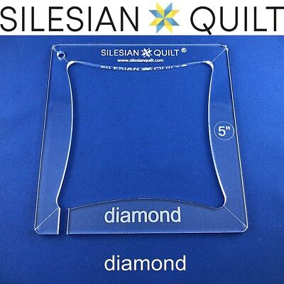 Template for quilting - Deck of cards - Diamond 5 inches