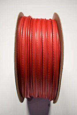 15 Yards Bright Red Vinyl Welt Cord Piping Marine Auto Fabric Boat Upholstery