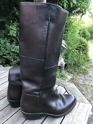 Primeboots Western Boots Cowboy Leather Stiefel 42 braun