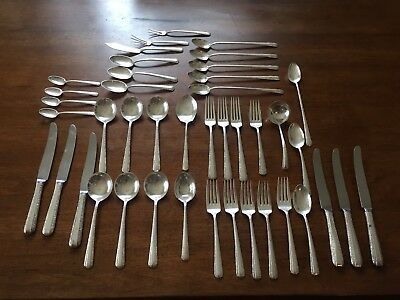 42 pc. . Towle Candlelight sterling silver flatware pat. 1934