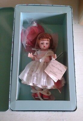 """New Madame Alexander 8"""" Signs Of Spring Limited Edition Vintage Tin Box 45340"""