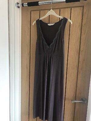 Mothercare Maternity Blooming Marvellous Charcoal Nursing Nightie Nightdress 10