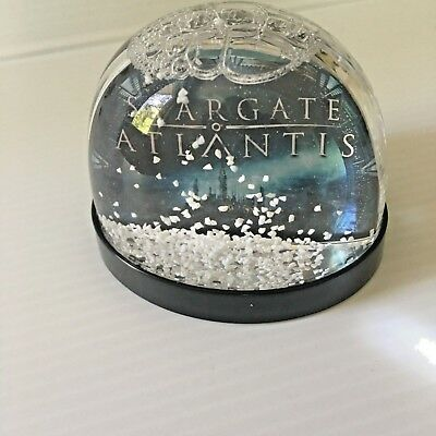 Stargate Atlantis x Comet TV Snowglobe Snow globe * Very Rare* NEW