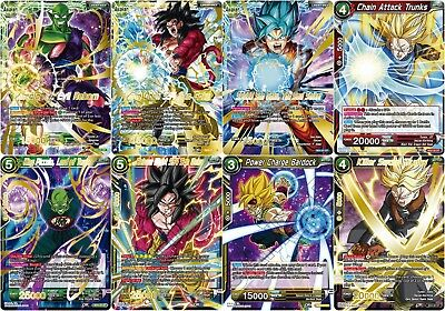 Dragon Ball Super Trading Card Game - Structure Deck Exclusives - NEW/RARE