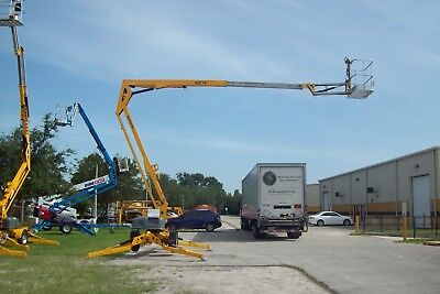 Bil Jax 4527A 51' Height Towable Boom Lift, 27' Outreach,Auto Leveling 2012