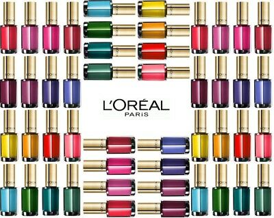 Nail Polish by L'Oreal Color Riche 5ml ~ Nude Pastel Top Coat Confetti Shimmer