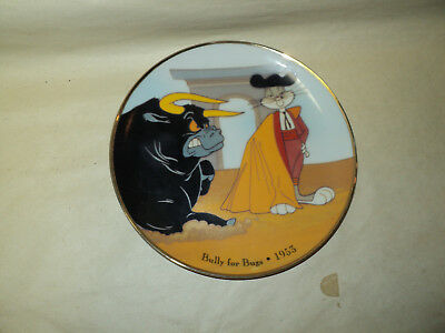 bully for bugs bunny warrner bros plate