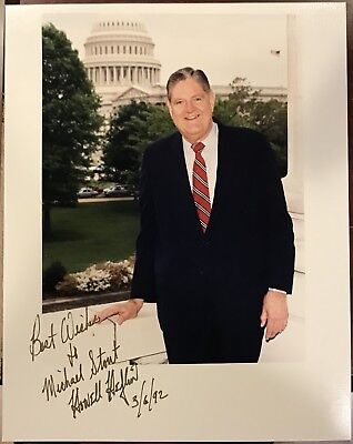 HOWELL HEFLIN Signed 8x10..ALABAMA U.S. SENATOR
