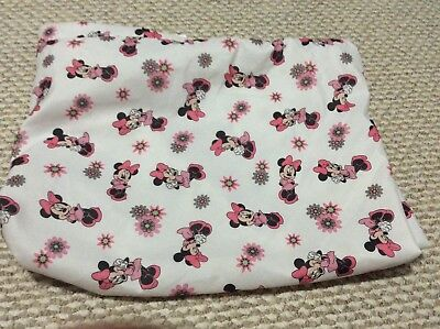 Used Good Condition Disney Minnie Mouse Infant Pack & Play Size Sheet