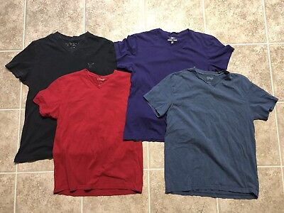 mens shirts size large lot Of 4