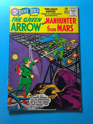 Brave and the Bold 50 DC 11/63 Green Arrow Manhunter from Mars A3