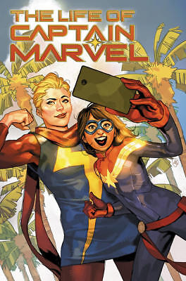 SDCC 2018 Marvel Exclusive THE LIFE OF CAPTAIN MARVEL #1 PUTRI VARIANT
