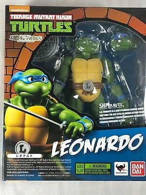 SH Figuarts Leo, Raph, Mike and Don Teenage Mutant Ninja Turtles Bandai