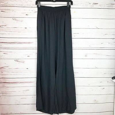 Just For Fun By Jams World Black Women's Palazzo Pants Size Large *flawed