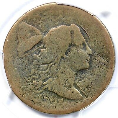 1794 S-48 R-5 PCGS AG Details Starred Reverse Liberty Cap Large Cent Coin 1c