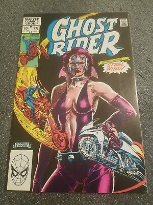 Ghost Rider #75 (Dec 1982, Marvel) One Owner! Free Ship in USA over  $36!
