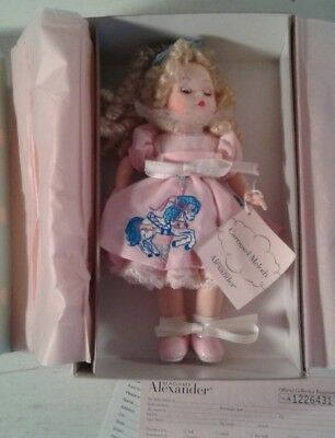 """Madame Alexander 8"""" Doll Carousel Melody #42140 New In Box Horse Merry Go Round"""