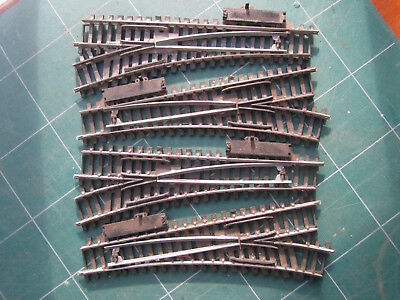 Tri-ang/Hornby System 6 Points x4 Lot2