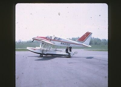 20 Vintage 35mm Photo Slide Lot, Small Seaplanes, Aircraft Airplanes, Planes