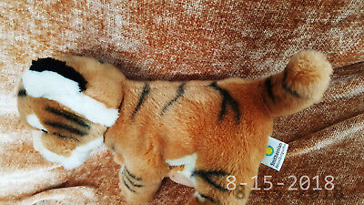"""12"""" Soft Smithsonian National Zoological Park Baby Bengal Tiger Cub Plush"""