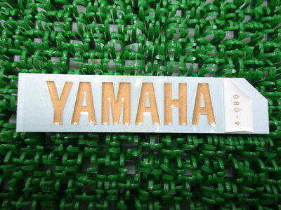 YAMAHA Genuine New Motorcycle Parts XJR400R Tail Cowl Decal 99245-00080