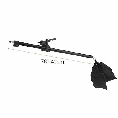 Camera Cross Arm Telescopic Boom Arm Studio Photo Stand Top Light Support