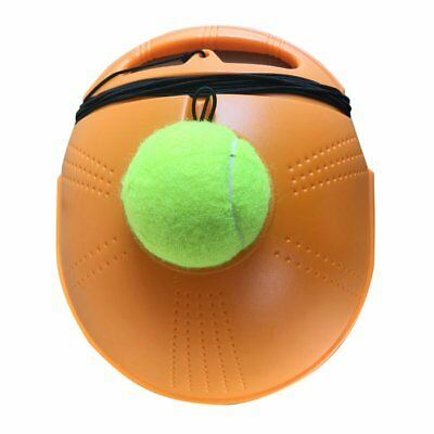 Tennis Ball Back Base Trainer Set with Long Rubber Elastic Rope Band Tennis SX