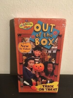Brand New Sealed Playhouse Disney Out Of The Box Trick Or Treat Vhs