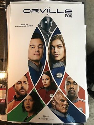 SDCC 2018 EXCLUSIVE The Orville Season 2   Poster 11 x 17  FOX