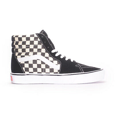 VANS SK8-HI LITE (Checkerboard Black/White) Men's Skate Shoes
