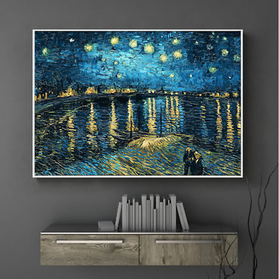 5D Diamond Embroidery Painting DIY Art Stitch Kit Wall Decor The Starry Night AU