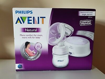 Philips AVENT Natural - Single Electric Breast Pump Brand New Sealed