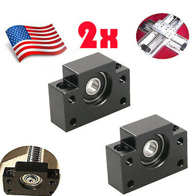 2X BF12 Ball Screw End Supports for Ball Screw CNC Parts Ship from US
