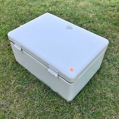 SAREL ELECTRICAL CABINET, WITH FIXINGS & KEY 240mm X 335mm X 157mm (EXTERNAL)