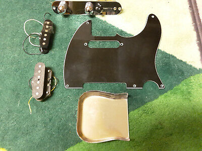 Fender Telecaster Pickups Jerry Donahue Tele - Parts Pickguard 4 way switch