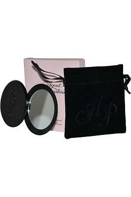 Agent Provocateur Cosmetic Compact Black Mirror in Pouch Gift For Her BNIB