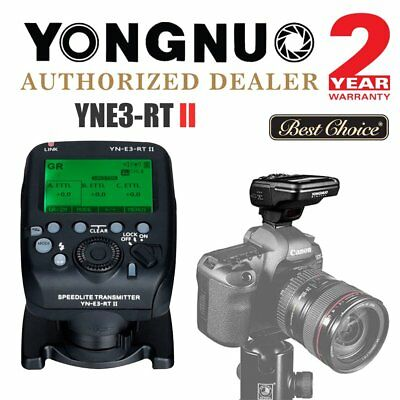 Yongnuo YNE3-RT II Wireless Speedlite Transmitter for Canon ST-E3-RT 600EX-RT UK