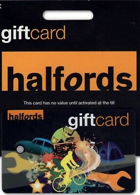 £211.76 Halfords Gift Card