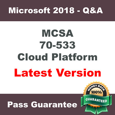 MCSA Exam 70-533 - Microsoft Azure Solutions - Practice Q&A, PDF (Verified 2018)