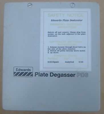Edwards PD3 Degasser Chamber, Stainless Steel 340mm X 160mm X160mm