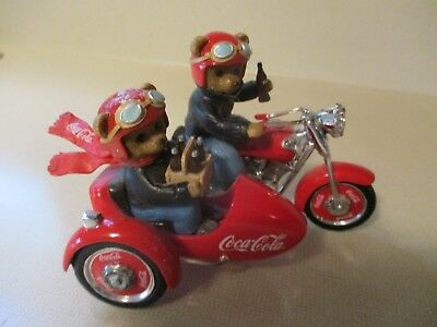 """LOT OF 4  """"On The Go With Coca Cola Collection"""" EACH NUMBERED/ MINT CONDITION"""