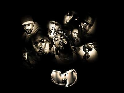 "MX02881 The Wu-Tang Clan - RZA Hip Hop Group Music 18""x14"" Poster"