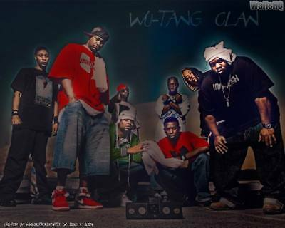 """MX02860 The Wu-Tang Clan - RZA Hip Hop Group Music 17""""x14"""" Poster"""