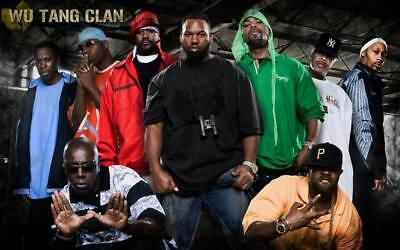 """MX02854 The Wu-Tang Clan - RZA Hip Hop Group Music 22""""x14"""" Poster"""