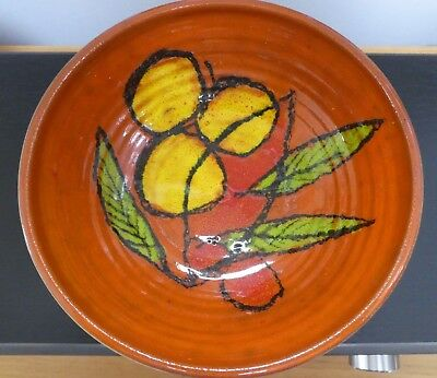 Poole Art Pottery Bowl But By Foster's Pottery Redruth