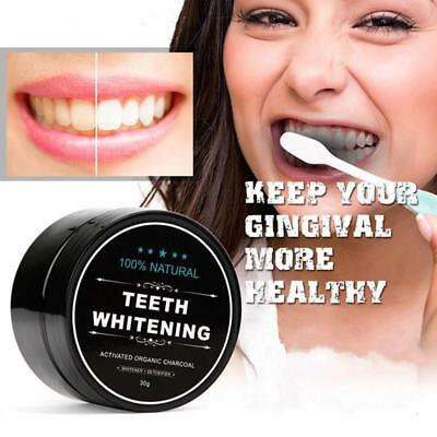 Teeth Whitening Carbon Powder Charcoal Activated Organic Coco Tooth Care Coconut