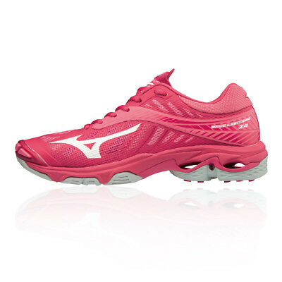 Mizuno Womens Wave Lightning Z4 Indoor Court Shoes Pink Sports Badminton