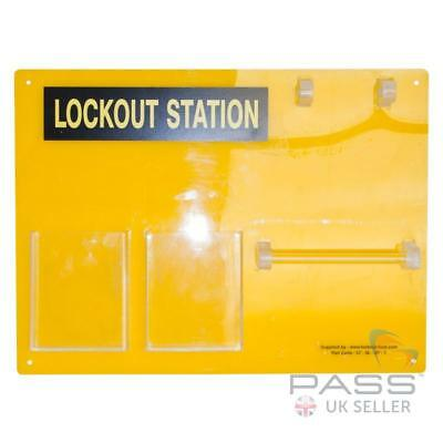 *NEW* Lockout Tagout Station - fits 5 Locks
