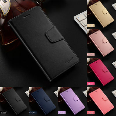 For Xiaomi Redmi 6A 6 Pro Luxury Business Slim PU Leather Case Flip Wallet Cover