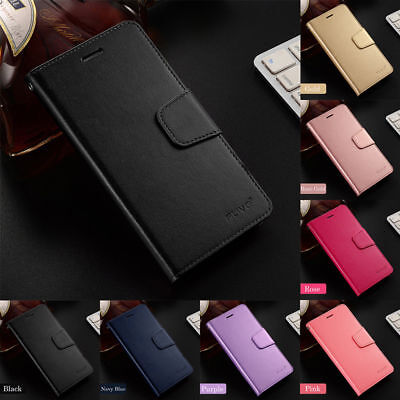 For Xiaomi Redmi 7 6A 6 Pro Business Slim PU Leather Case Flip Wallet Cover
